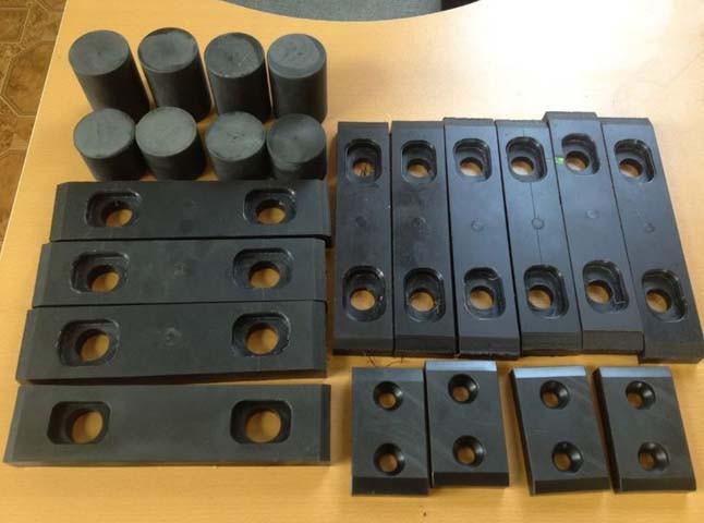 Плиты скольжения (комплект) КС-35714, КС-35715 Ивановец