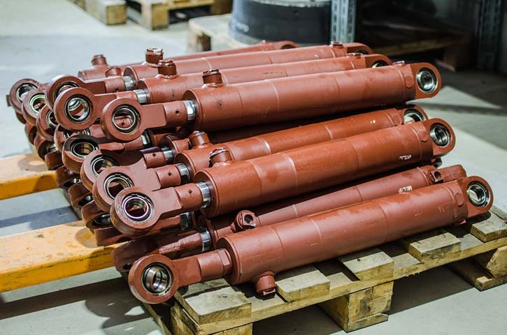 Гидроцилиндр стрелы ЦГ-125.80х1000.11