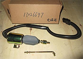 Клапан глушения 13026697 двигателя TD266, WP6G Deutz (Дойц)