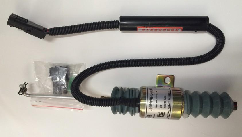 Клапан глушения 13026882 двигателя TD226B-6, WP6G125E22 Deutz (Дойц)