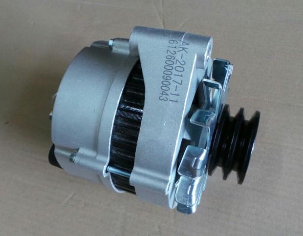 Генератор 61200090043, 5001390 двигателя WD615 Weichai (Вейчай)