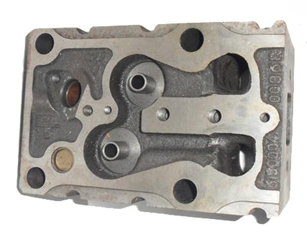 Головка блока цилиндров 612600040244, 61500040099A двигателя WD615G220 Weichai (Вейчай)