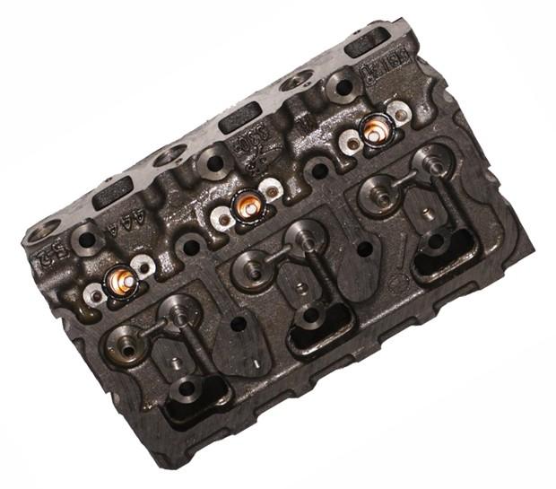 Головка блока цилиндров 330-1003190BS4 двигателя YC6B125/YC6108 Yuchai (Ючай)