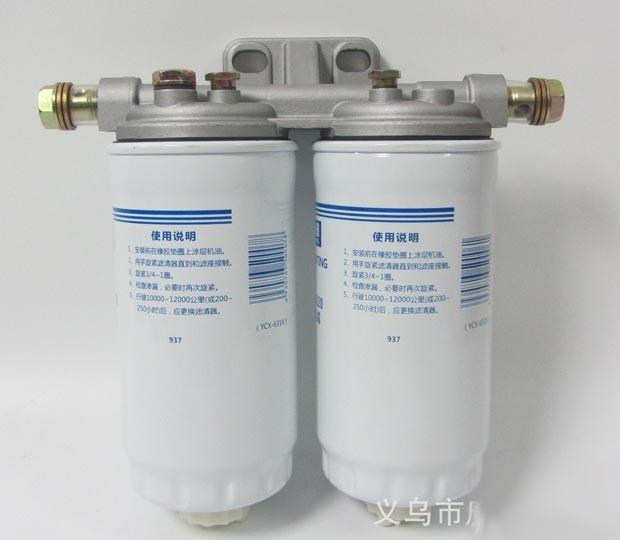 Кронштейн топливных фильтров A3000-1105010-937 двигателя YC6108/YC6B125 Yuchai (Ючай)