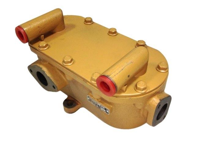 Маслоохладитель 1640H-1013100A двигателя YC6108/YC6B125 Yuchai (Ючай)