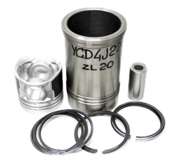 Поршневая группа YP-P1JQ000, 1JQ000-9000200B-M двигателя YCD4J22G Yuchai (Ючай)