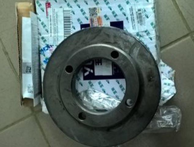 Шкив коленвала 640-1005031B двигателя YC6B125/YC6108 Yuchai (Ючай)