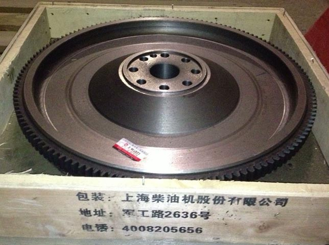 Маховик D06B-001-46+G двигателя D9-220/SC8D190G2B1 Shanghai (Шанхай)