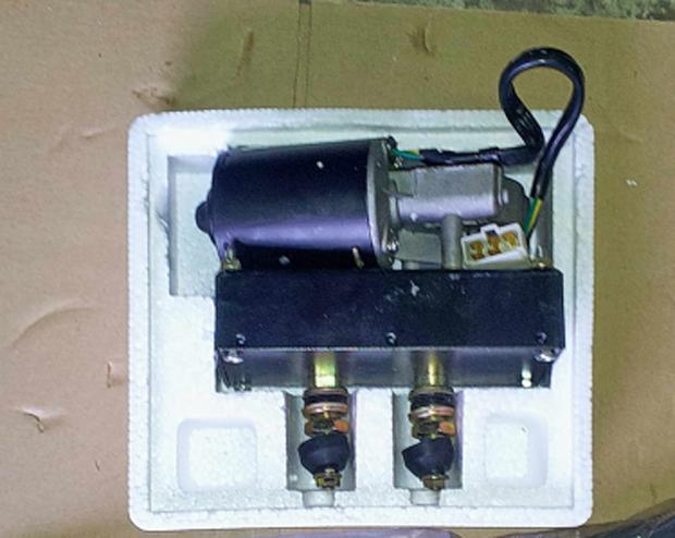 Мотор стеклоочистителя 2531A, 4190000599 погрузчика SDLG