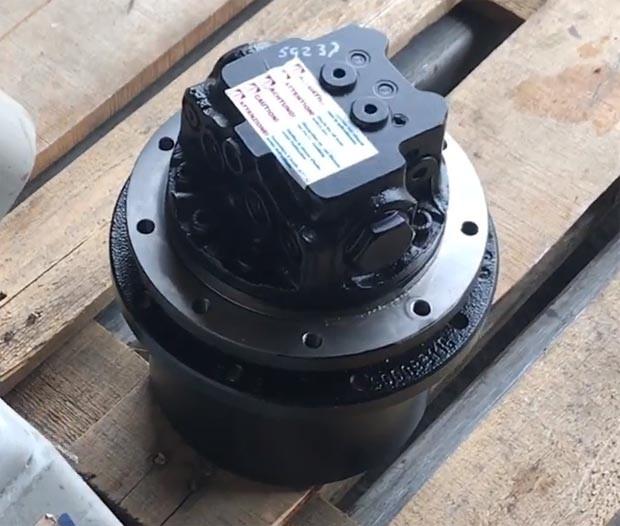 Редуктор хода мини-экскаватора Kubota RX303, RX302 (Кубота)