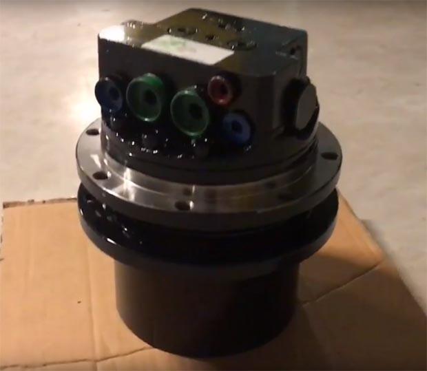 Редуктор хода мини-экскаватора Kubota KX41-2VA (Кубота)