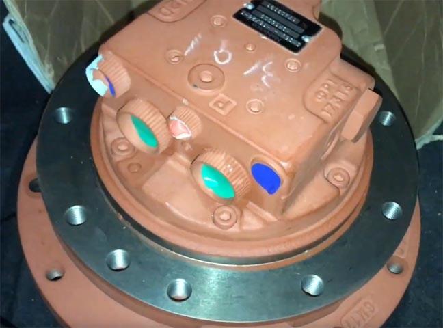Редуктор хода мини-экскаватора Hitachi ZX50/ ZX50U2 (Хитачи)