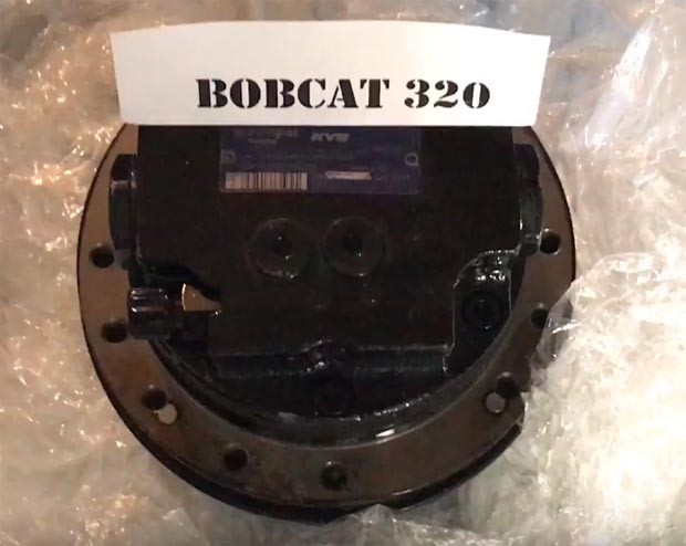 Редуктор хода мини-экскаватора Bobcat 320 (Бобкэт)