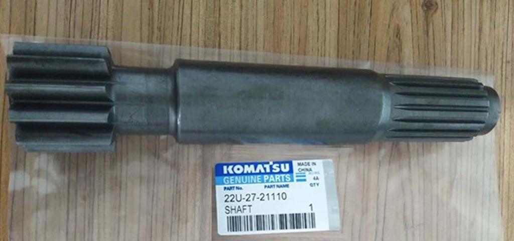 Вал редуктора хода 22U-27-21110 экскаватора Komatsu (Комацу)
