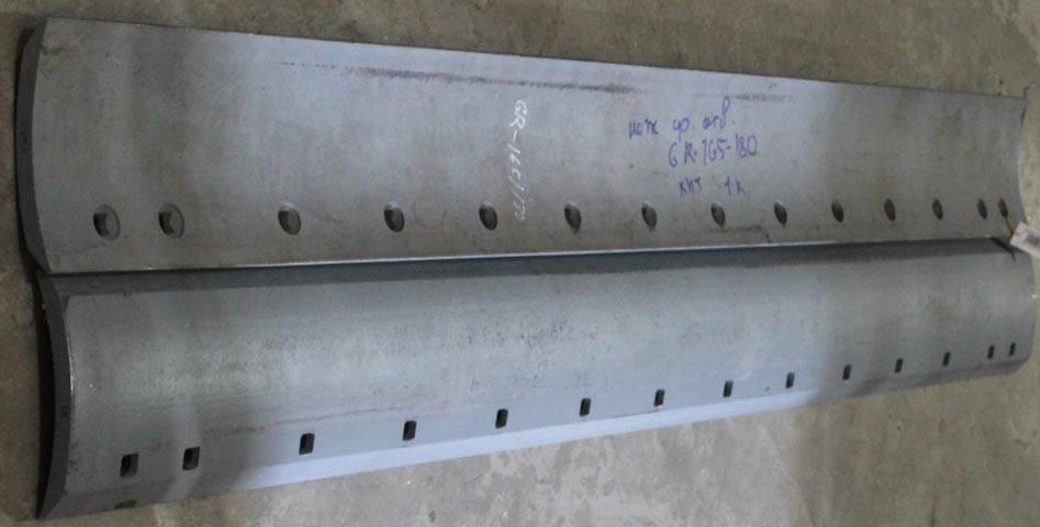 Нож отвала среднего (1980x152x19) автогрейдера XCMG GR165, GR180