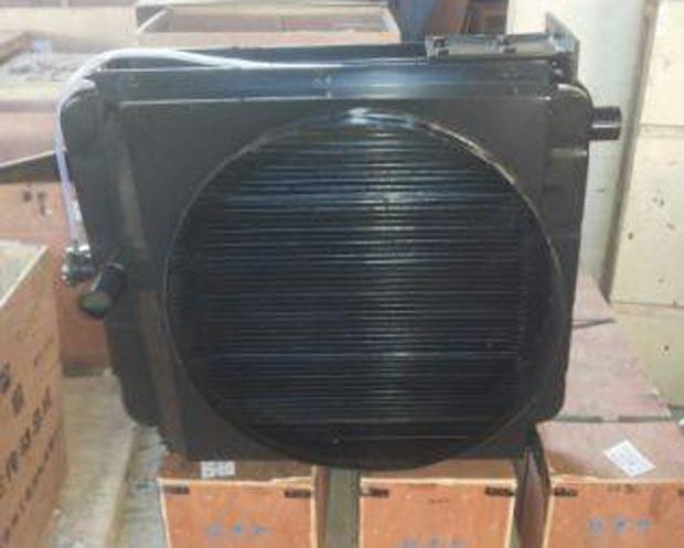 Радиатор XGSX01-57 (5004578, 15.5-67-85, 800101397) погрузчика XCMG LW321F, ZL30G